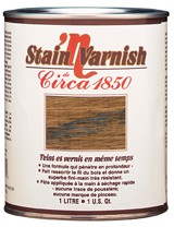 Circa 1850<br>Stain'n Varnish