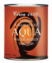 Circa 1850<br>AQUA Varnish
