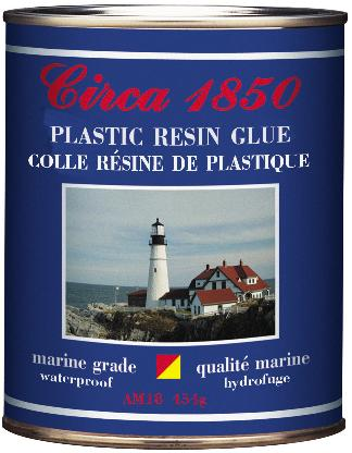 Circa 1850 Plastic Resin Glue