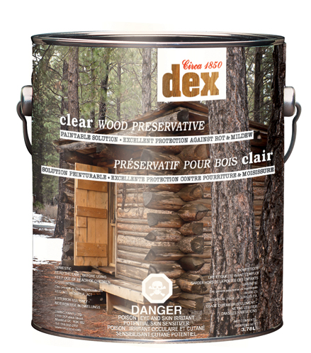 Circa 1850<br>Dex Clear Wood Preservative