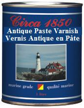 Circa 1850 <br>Marine Grade<br> Antique Paste Varnish