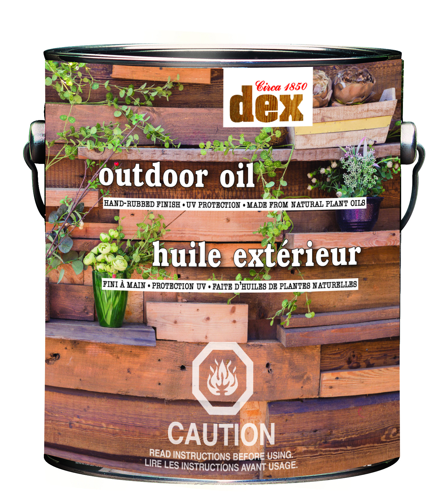 Circa 1850 DEX<br>Outdoor Oil<br>(Marine Grade Tung&#x0027;n Teak Oil)