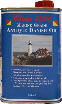 Circa 1850 Marine Grade Antique Oil