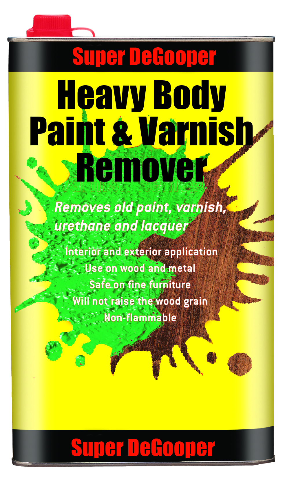 Super DeGooper<br>Heavy Body<br> Paint & Varnish Remover