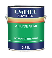 Empire<br>Alkyd Semi Gloss